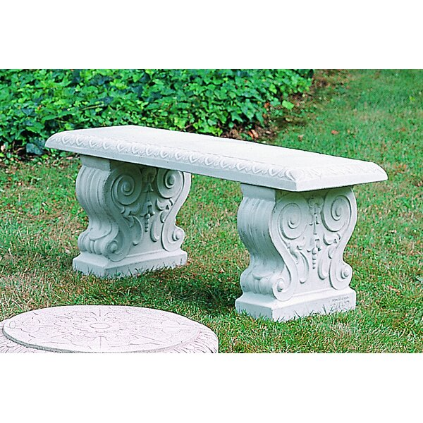 Ladetto Traditional Straight Bench by Astoria Grand