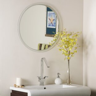 Frameless Beveled Karnia Wall Mirror By Decor Wonderland