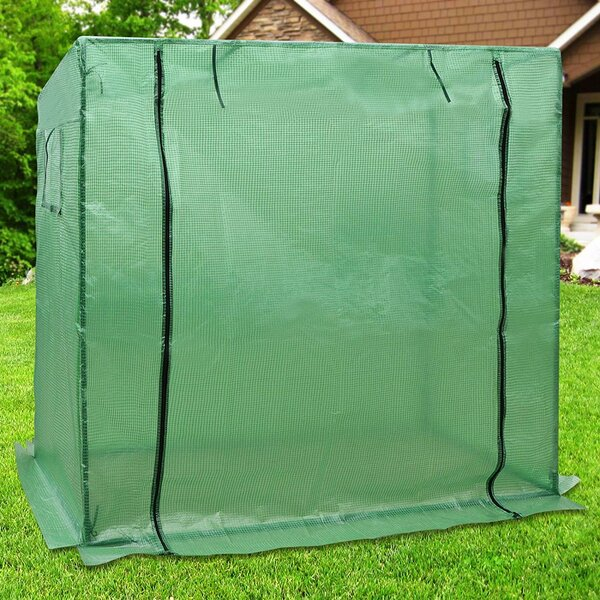 7 Ft. W x 3 Ft. D Tomato Mini Greenhouse by Strong Camel