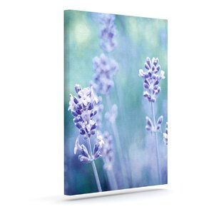 'Lavender Dream' Graphic Art Print on Canvas by East Urban Home