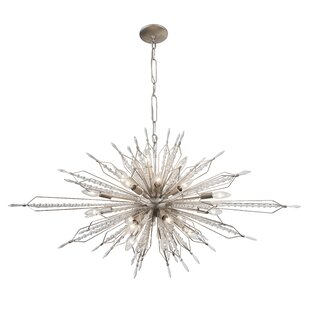 Reviews Orbital 20-Light Sputnik Chandelier By Varaluz