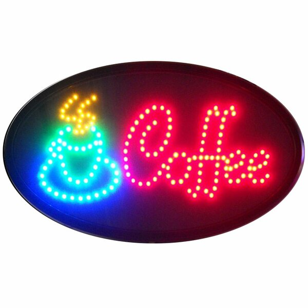 Coffee LED Sign by Neonetics