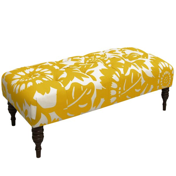 Baja Tufted Upholstered Bench by Bay Isle Home