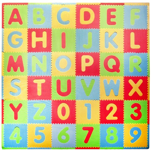 Tadpoles 36 Piece ABC Playmat Set by Tadpoles