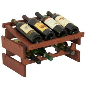 Dakota 8 Bottle Tabletop Wine Rack by Wooden Mallet