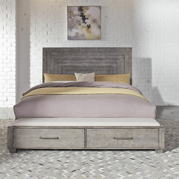 Cortinas Storage Standard Bed by Gracie Oaks