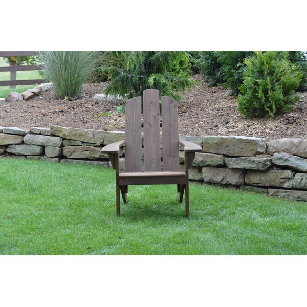Handley Solid Wood Adirondack Chair by August Grove August Grove