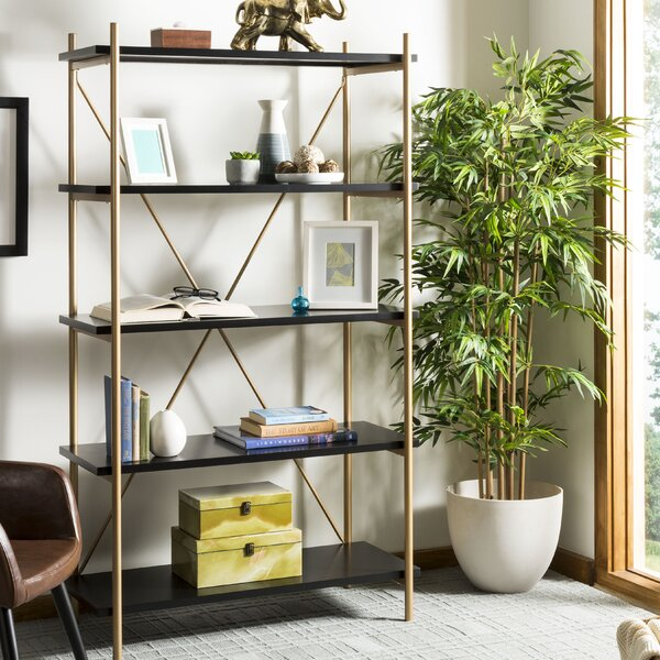 Carytown Seale 5 Tier Etagere Bookcase by Greyleigh