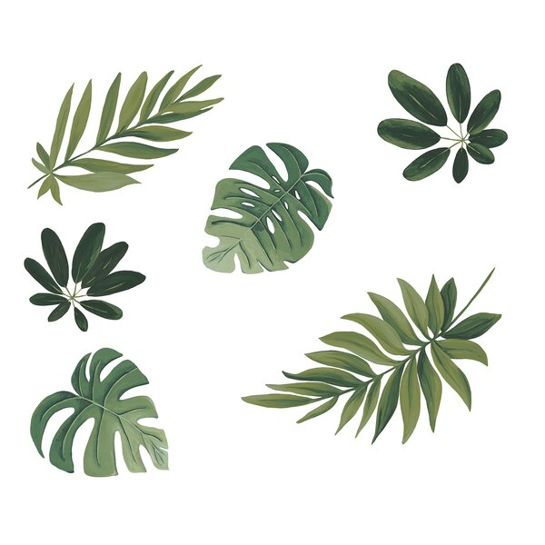 Allenstown Havana Leaves Wall Decal by Bay Isle Home