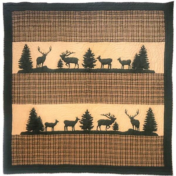 Georgina Elk Single Reversible Quilt