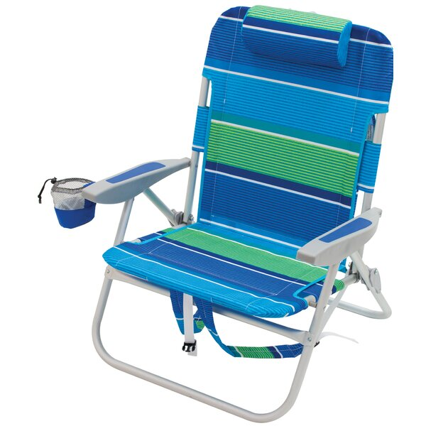 Boxborough Backpack Reclining Beach Chair by Freeport Park Freeport Park