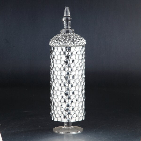 Decorative Bottle by Diamond Star Glass