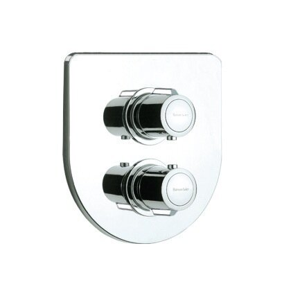 Arola Round Thermostatic Shower Mixer by Roman Soler by Nameeks