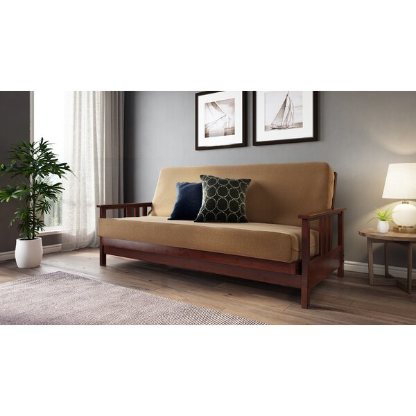 Kirschner Tight Back Futon And Mattress By Millwood Pines