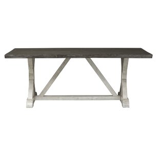Inexpensive Beames Trestle Dining Table By Gracie Oaks