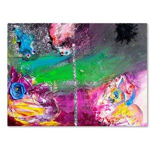 Vertigo Painting Print on Wrapped Canvas by Latitude Run