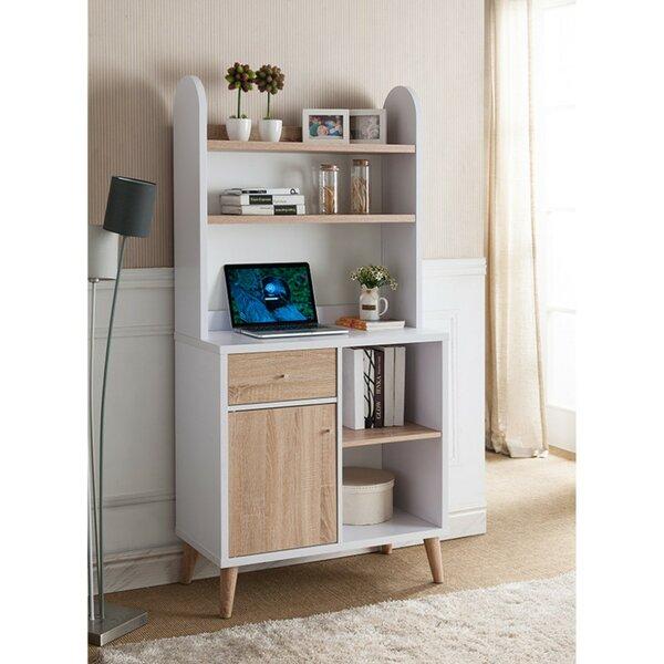 Hood Wooden Standard Bookcase by Wrought Studio