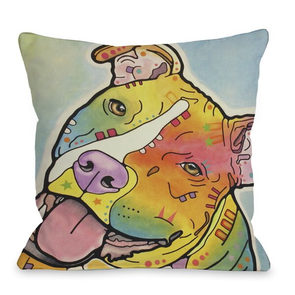 Doggy Décor Skittles Throw Pillow by One Bella Casa