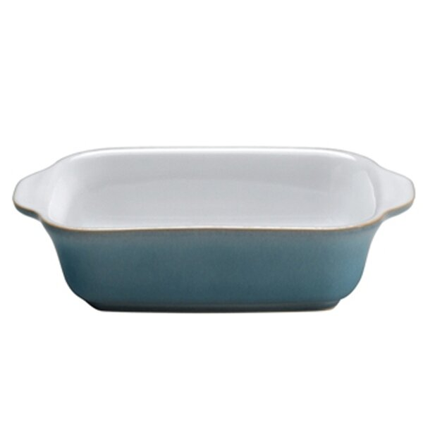 Azure 18 Oz. Small Oblong Dish by Denby