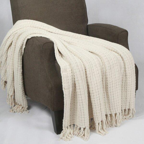 Mortensen Knitted Throw Blanket by Three Posts