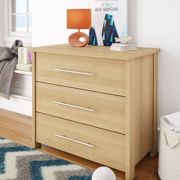 Rasalhague 3 Drawer Dresser by Mack & Milo
