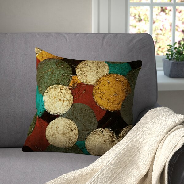 Jeramy Printed Throw Pillow by Red Barrel Studio