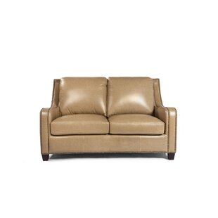 Howa Leather Loveseat