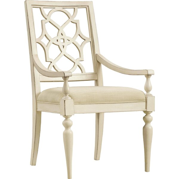 Sandcastle Fretback Upholstered Dining Chair By Hooker Furniture