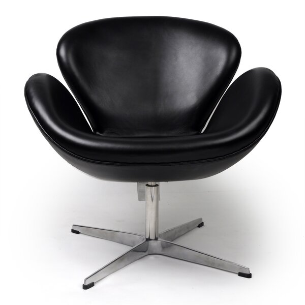 Trumpeter Swivel Lounge Chair by Kardiel