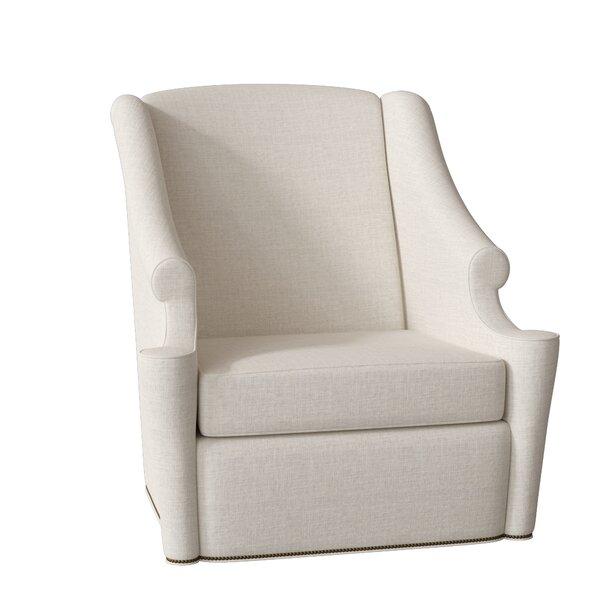 Lainey Swivel Wingback Chair by Gabby