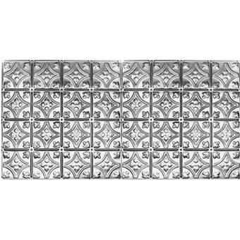 Chelsea Decorative Metal Co Victorian 2 Ft X 4 Ft Tin Plated Steel Tile Reviews Wayfair