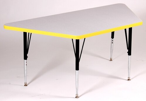 60'' x 30'' Trapezoidal Activity Table by Correll, Inc.