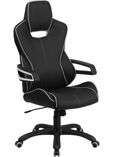 Mccree High-Back Ergonomic Executive Chair by Latitude Run