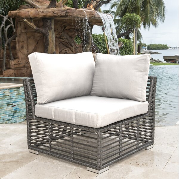Modular Patio Chair with Sunbrella Cushions by Panama Jack Outdoor