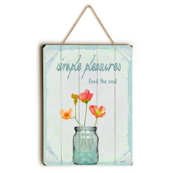 Simple Pleasures Graphic Art by August Grove