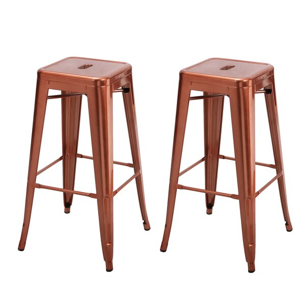 Vivian Bar Stool (Set of 2) by Brayden Studio