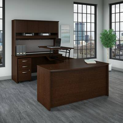 U Shaped Executive Desk Industrial Computer Desk