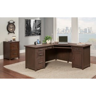 Big Save Powell 2 Piece L-Shaped Desk Office Suite ByLatitude Run