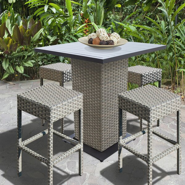 Oppelo 5 Piece Pub Table Set by Sol 72 Outdoor Sol 72 Outdoor