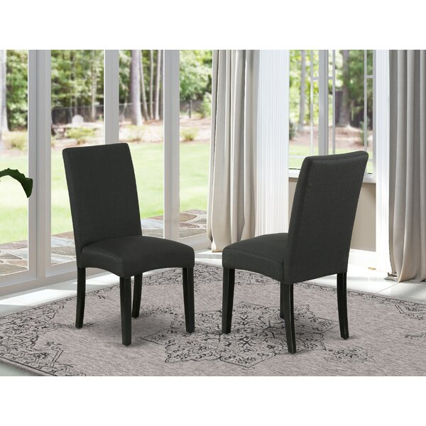 Kellen Solid Wood Dining Chair (Set of 2) by Red Barrel Studio Red Barrel Studio