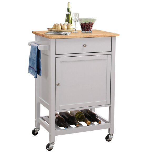 Vallejo Kitchen Cart by Winston Porter