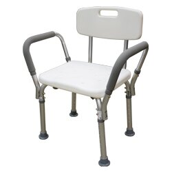 Adjustable Shower Chair (Set of 2) by Roscoe Medical