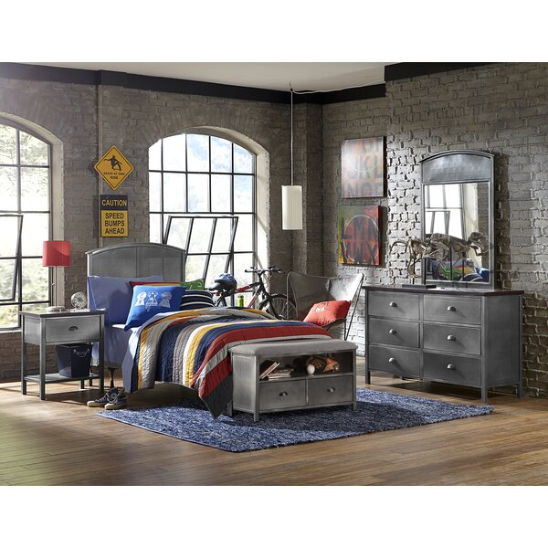 Albert Panel 5 Piece Bedroom Set by Viv + Rae