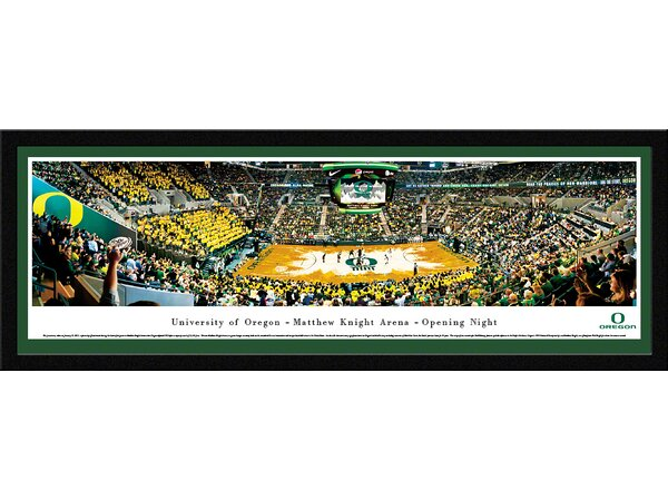 NCAA Oregon, University of - Matt Arena Framed Photographic Print by Blakeway Worldwide Panoramas, Inc