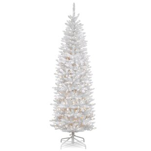 White Fir Trees Artificial Christmas Tree With Clear And Lights