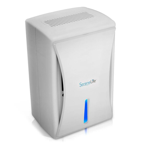 Compact Electronic 5.75 H Dehumidifier by SereneLi