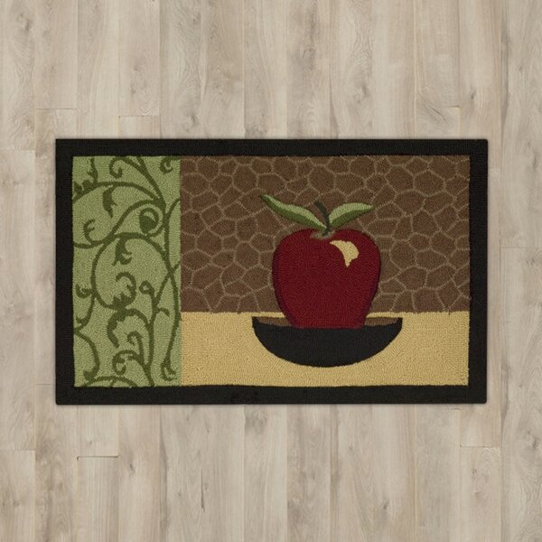White Apple Area Rug by Andover Mills
