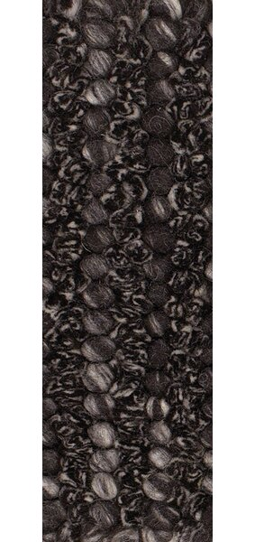 Metcalf Black/Gray Area Rug by Brayden Studio