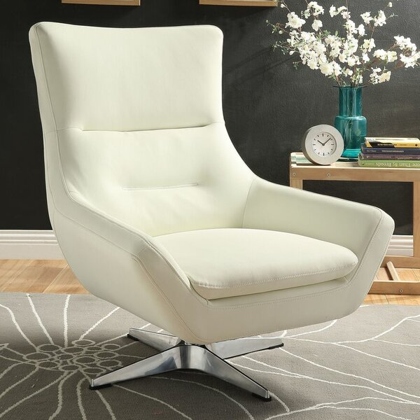 Winningham Swivel Wingback Chair by Orren Ellis