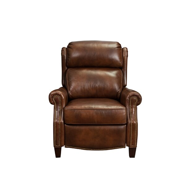 Benelva Leather Manual Recliner by Darby Home Co